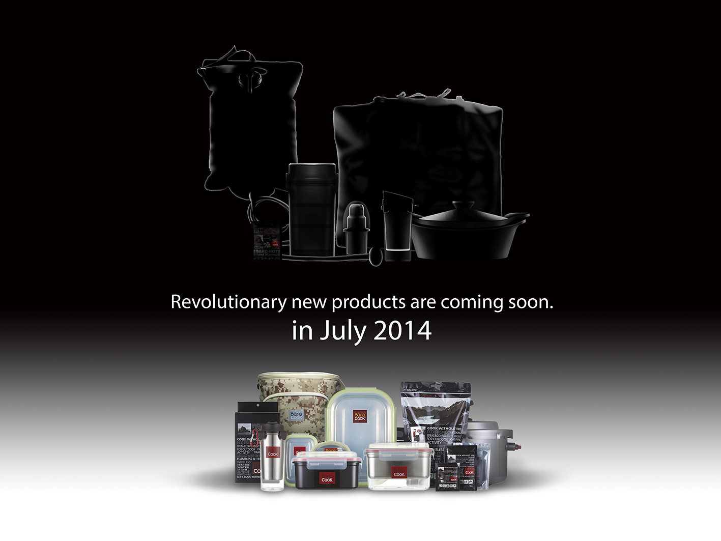 Revolutionary new products are coming soon