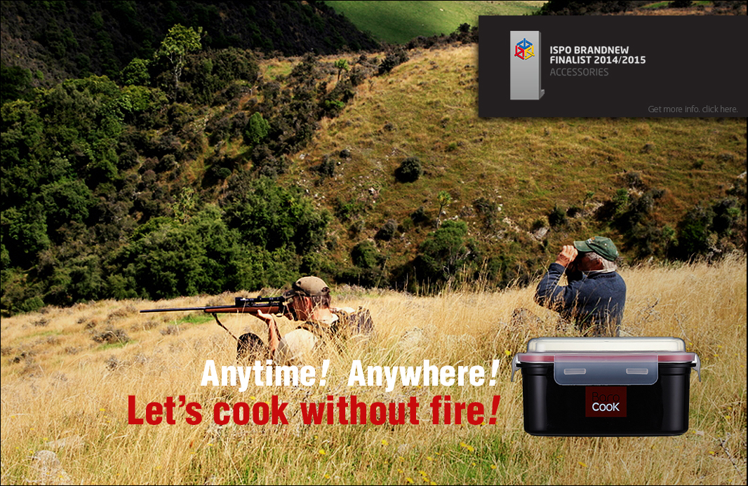 anytime! anywhere! let's cook without fire!
